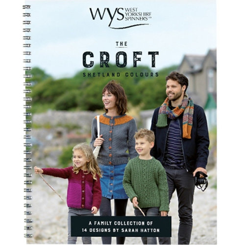 West Yorkshire Spinners The Croft Shetland Colours Pattern Book -  ()