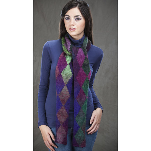 Wisdom Yarns Northern Lights Scarf (Free) PDF -  ()