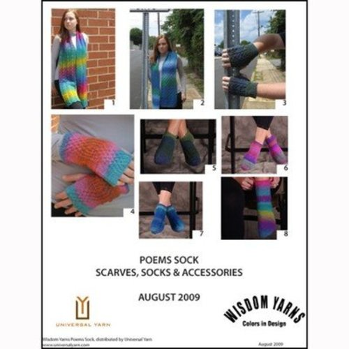 Wisdom Yarns Poems Sock Scarves, Socks and Accessories (Free) -  ()