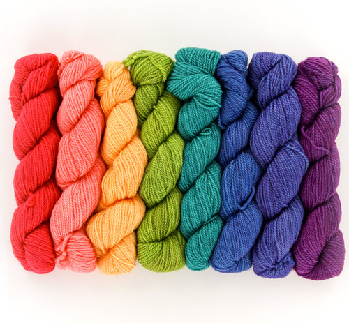 Wonderland Yarns Cheshire Cat 8-Skein Pack - #80 Stuff & Nonsense (80STUF)