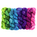 Wonderland Yarns Cheshire Cat 8-Skein Pack - Luminous Collection: #85 One Way & Another (85ONE)