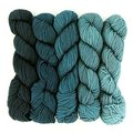 Wonderland Yarns Mad Hatter 5-Skein Pack - Shillings And Pence, #16 (16SHILLING)