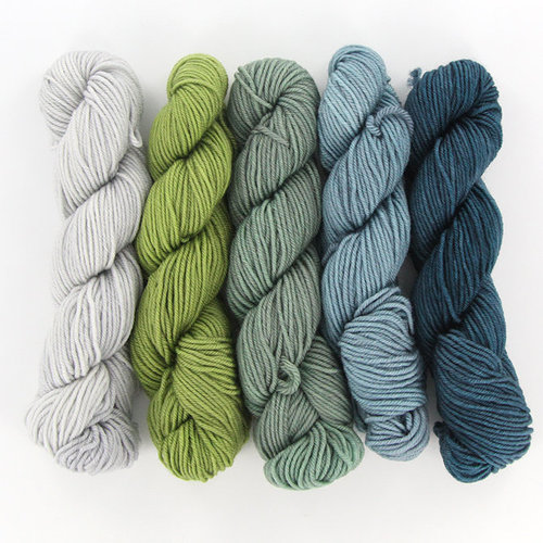 Wonderland Yarns Mad Hatter 5-Skein Pack - 'Cause Everyone Like It!, #61 (61CAUS)