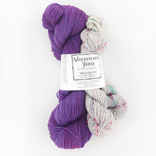 Wonderland Yarns Messenger Kit - WEBS Exclusive Colorway -  ()