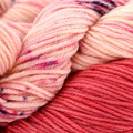Wonderland Yarns Messenger Kit - Pink with Petit-Four (16)
