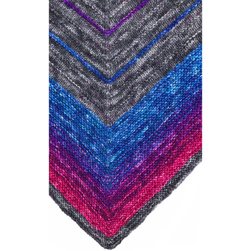 Wonderland Yarns Secret Staircase Shawl PDF -  ()