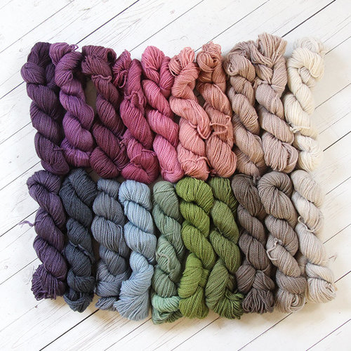Wonderland Yarns So Fond of Rainbows in Cheshire Cat - Enchanted Woodland Collection (ENWOOD)