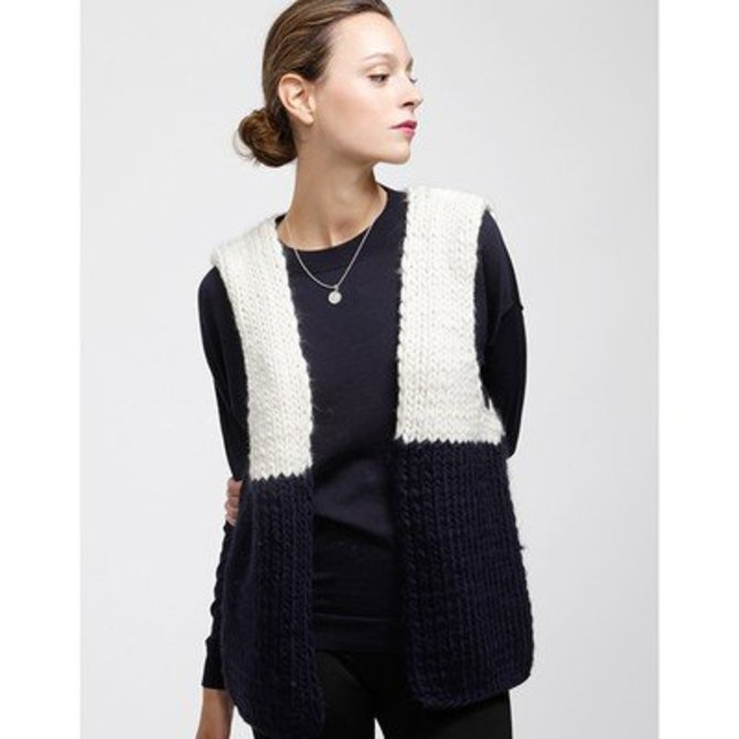 Wool And The Gang Ice Breaker Cardigan (Free) at WEBS | Yarn.com