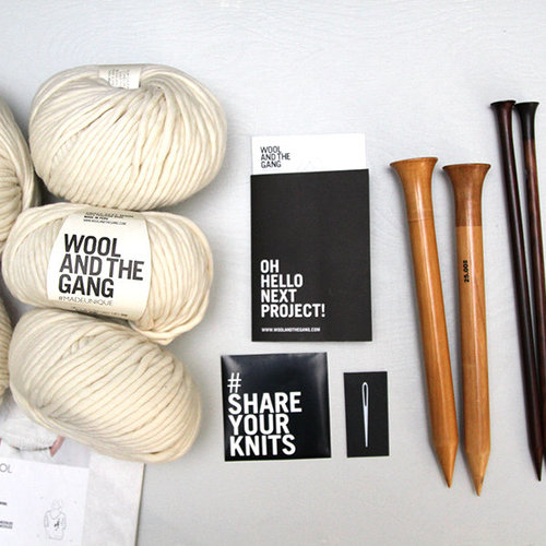 Wool and the Gang Way Wool Sweater Kit -  ()