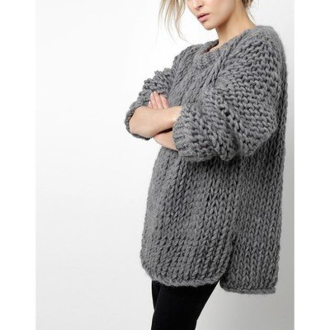 Wool and the gang wonderwool sweater free at webs - Gang and the wool ...