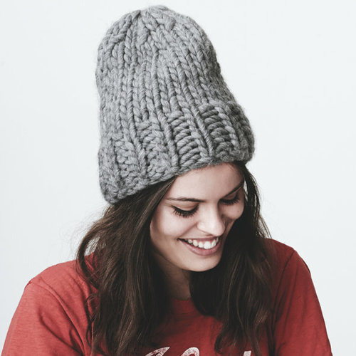 Wool and the Gang Zion Lion Hat Kit - Hot Punk Pink (HOTPUN)