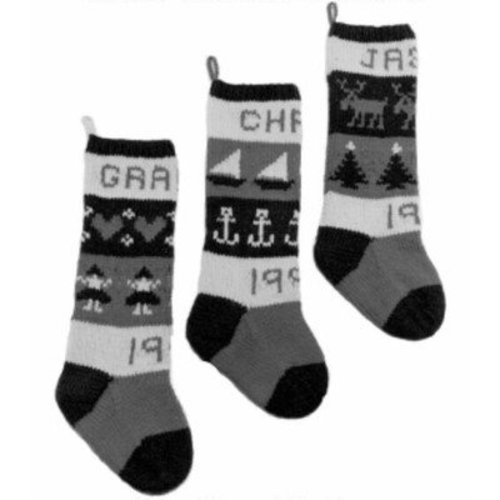 Yankee Knitter Designs 10 Classic Christmas Stockings -  ()
