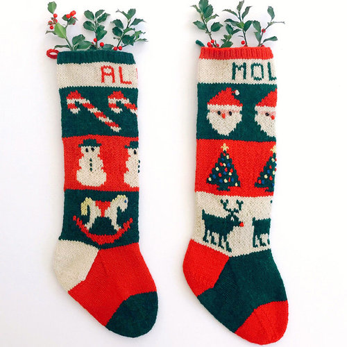 Yankee Knitter Designs 24 Traditional Christmas Stockings - Printed (24P)