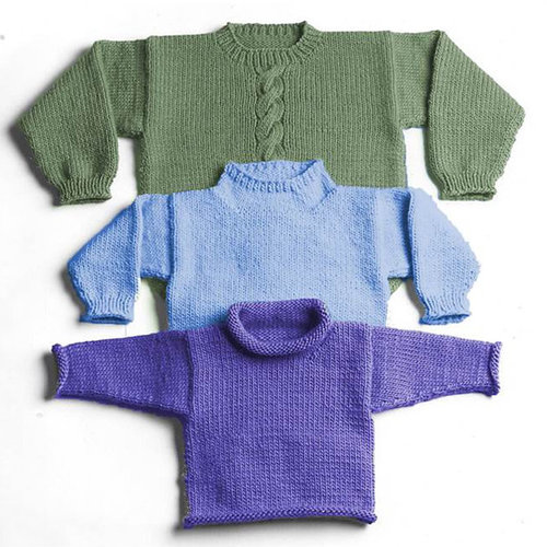 Yankee Knitter Designs 30 Easy Bulky Sweater for the Family -  ()