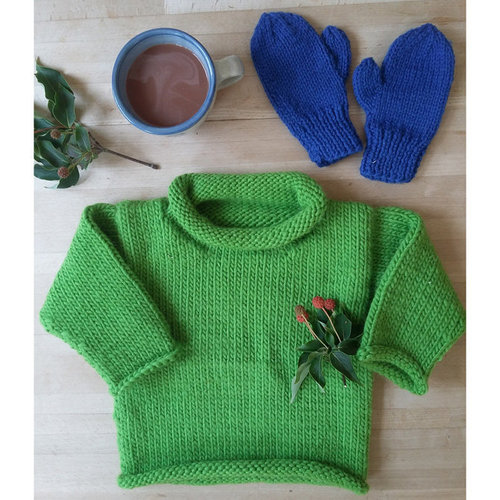 Yankee Knitter Designs 30 Easy Bulky Sweater for the Family - Printed (30P)