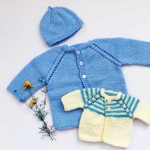 Yankee Knitter Designs 31 Baby Sweaters, Hat & Blankets PDF - Download (31)