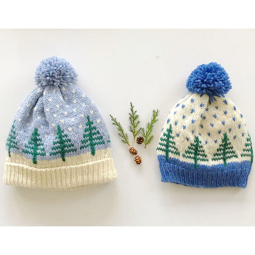 Yankee Knitter Designs 35 Pine Tree Hat PDF - Download (035)