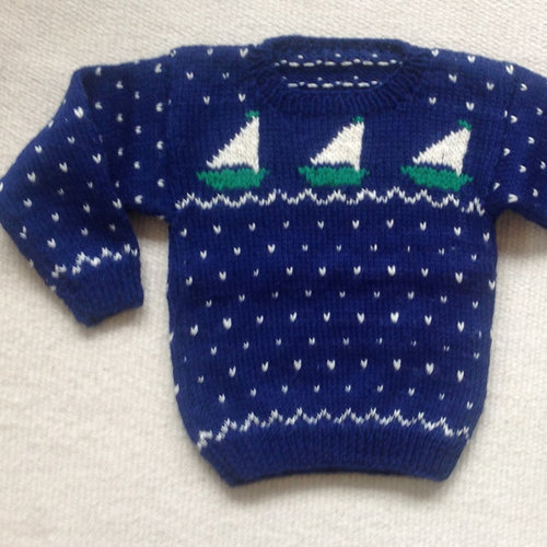 Yankee Knitter Designs 5 Child's Sailboat & Whale Sweaters PDF - Download (5)
