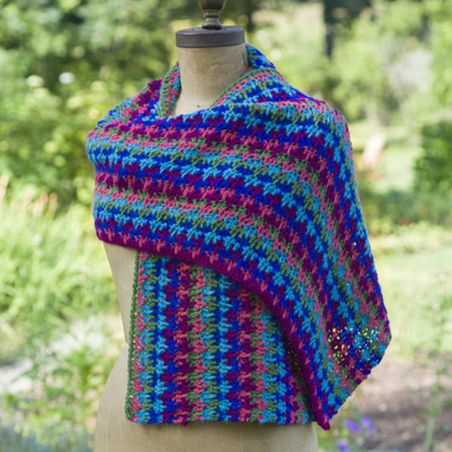 Yarn and Soul Crocheted Wrap (Free) -  ()