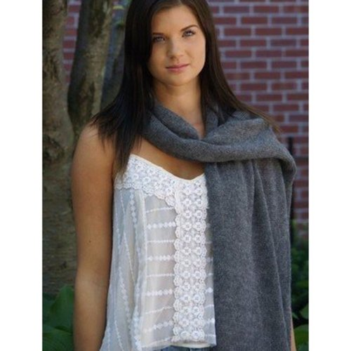 Yarn and Soul Rectangle Wrap (Free) -  ()