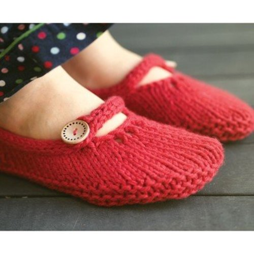 Ysolda Not-So-Tiny Slippers PDF -  ()