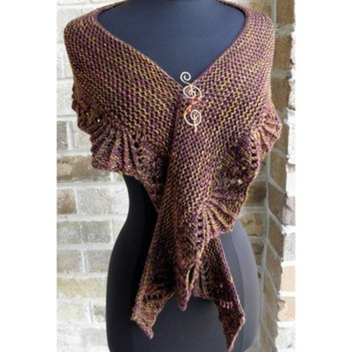 Zen Yarn Garden Short & Sweet Shawl PDF -  ()