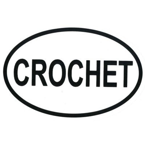 Zippy Pins Bumper Stickers - Crochet (CROCHET)